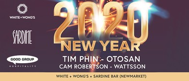 2020 New Year Party at White + Wong's Newmarket