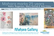 Image for event: Mahara Marks 25 Years