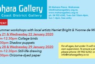 Image for event: Summer Workshops with Harriet Bright & Yvonne de Mille