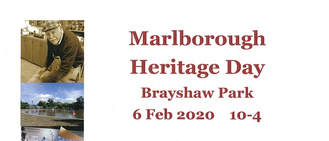 Marlborough Heritage Day