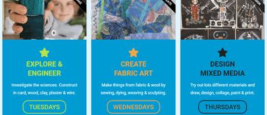 Art Classes - Term 1 - Creative Kid's Art Lab