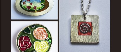 Jewellery Enamelling with Sally Laing