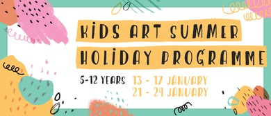 January Kids Art Holiday Programme