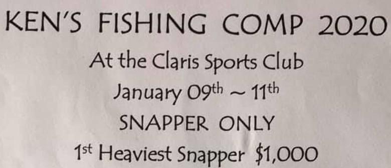 Kens Fishing Comp 2020