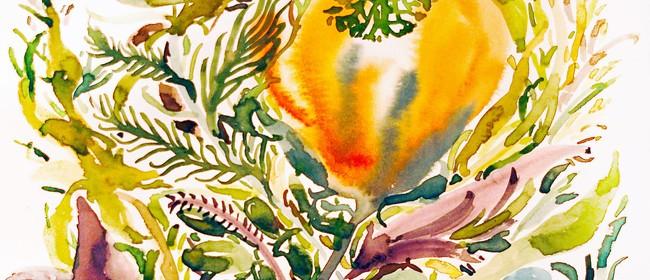 Basic Floristry Skills Botanical Watercolour Workshop