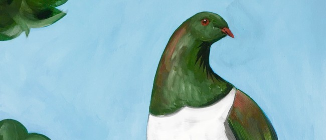 Paint and Wine Night - Kereru - Paintvine