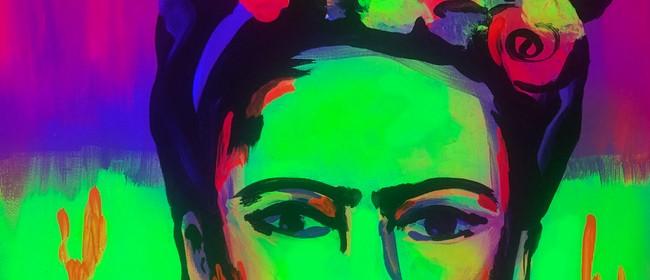 Glow In The Dark Paint Night - Fluro Frida - Paintvine: CANCELLED