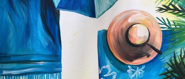Paint and Wine Night - Beach Days - Paintvine