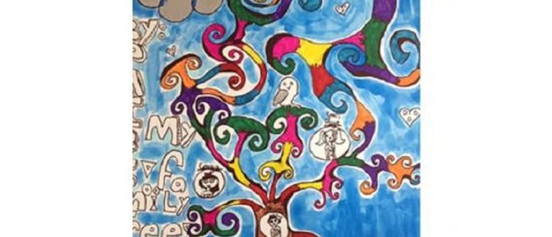 Fun Family Tree - January School Holiday Art Class