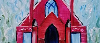 Paint & Wine Night - Pink Church - Paintvine