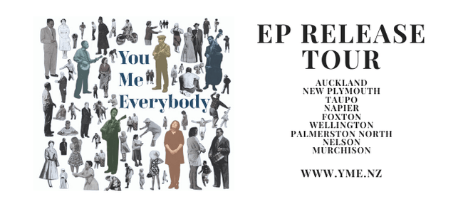 You, Me, Everybody EP Release Tour