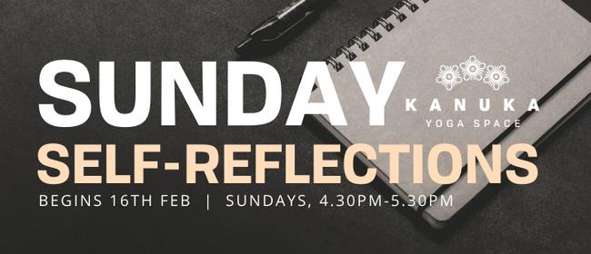 Sunday Self Reflections - 2020