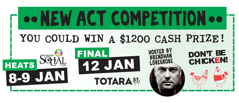 The Mount Comedy Festival: New Act Comp Grand Final