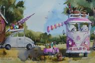Watercolour Painting Classes With Amanda Brett