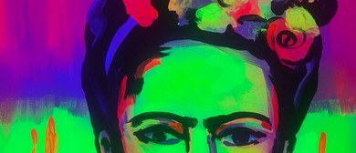 Glow In The Dark Paint Night - Fluro Frida - Paintvine