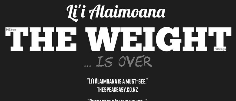 Li'i Alaimoana - The Weight is Over