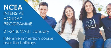 NCEA Holiday Programme - January 2020