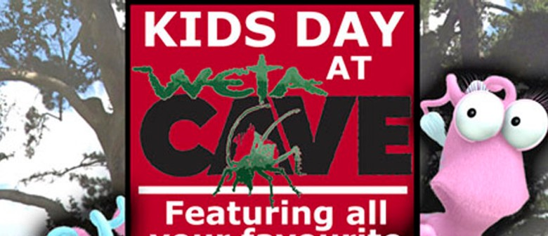 Kids day at The Weta Cave