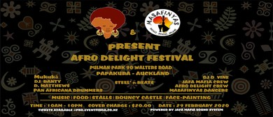Afro Delight & Masafinyas Present Afro Delight Festival