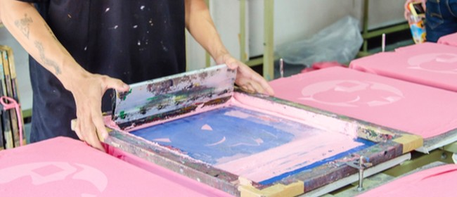 Introduction to Screen Printing Evening Classes - Term 1