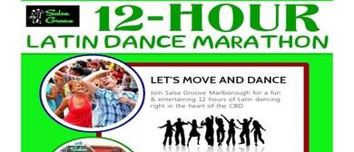 12-Hour Latin Dance Marathon - Let's Dance: CANCELLED