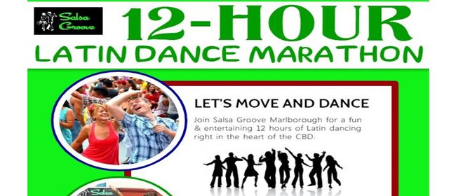 12-Hour Latin Dance Marathon - Let's Dance: CANCELLED