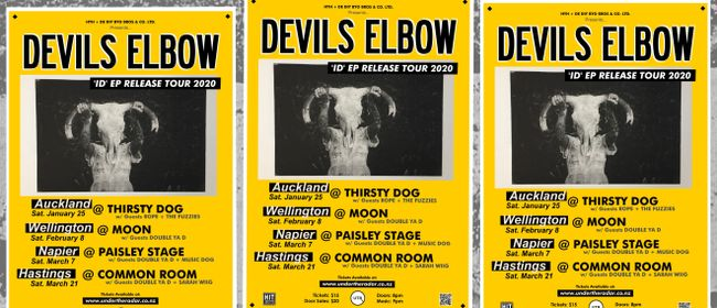 Devils Elbow - ID EP Release Tour 2020