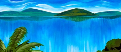 Paint & Wine Night - Lake Rotorua - Paintvine