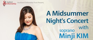 Midsummer concert with Minji KIM