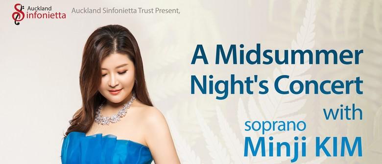 Midsummer concert with Minji KIM