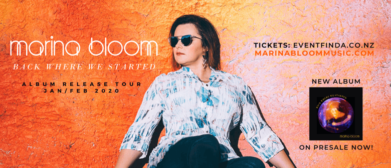 Marina Bloom - Back Where We Started Album Tour