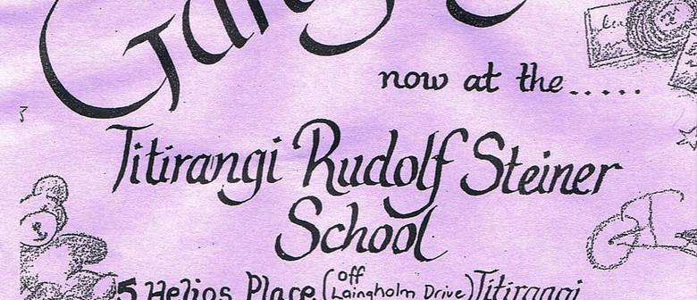 Annual Giant Garage Sale: Titirangi Rudolf Steiner School