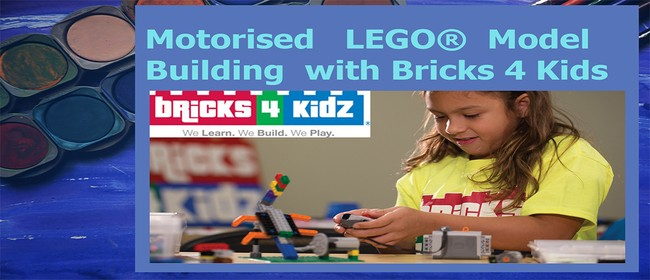Motorised LEGO Model Building with Bricks 4 Kids