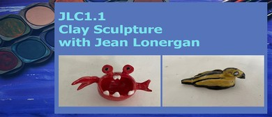 JLC1.1: Clay Sculpture with Jean Lonergan