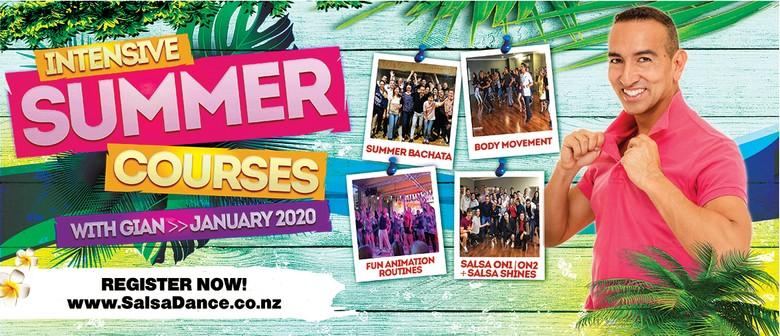 Salsa on2 Beginners Level 1 Summer Course