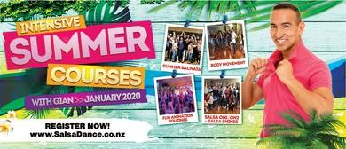 Fun Latin Dance Animation Summer Course
