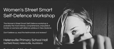 Women's Street Smart Self-Defence Workshop