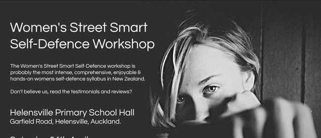 Women's Street Smart Self-Defence Workshop: CANCELLED