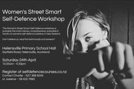 Women's Street Smart Self-Defence Workshop: CANCELLED