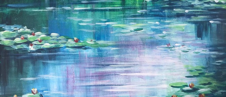 Paint & Chill Night - Water Lily - Monet inspired