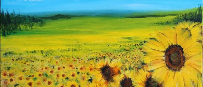 Paint & Chill Night - Sun Flower Field