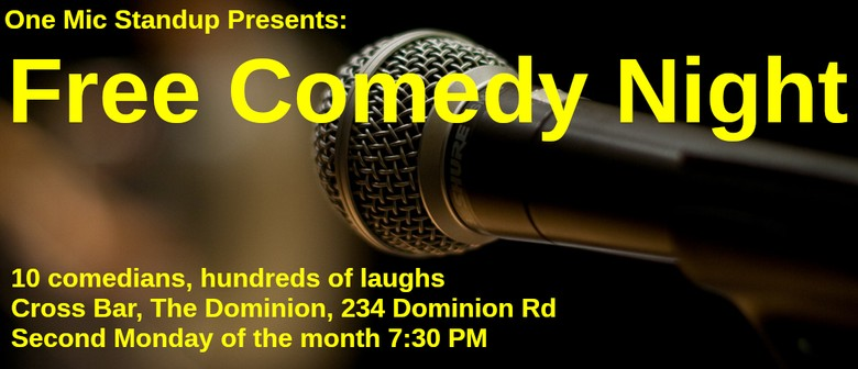 Comedy Show, One Mic Standup