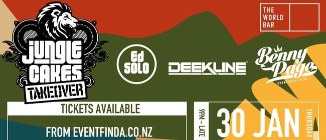 Ed Solo, Deekline & Benny Page