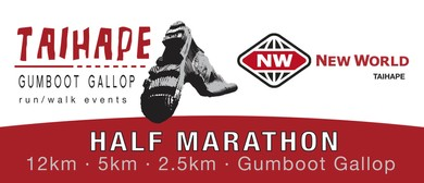 New World Taihape Gumboot Gallop