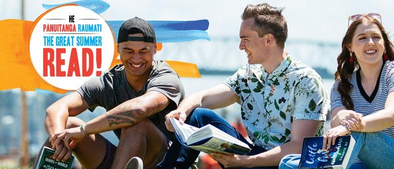 The Great Summer Read – He Pānuitanga Raumati