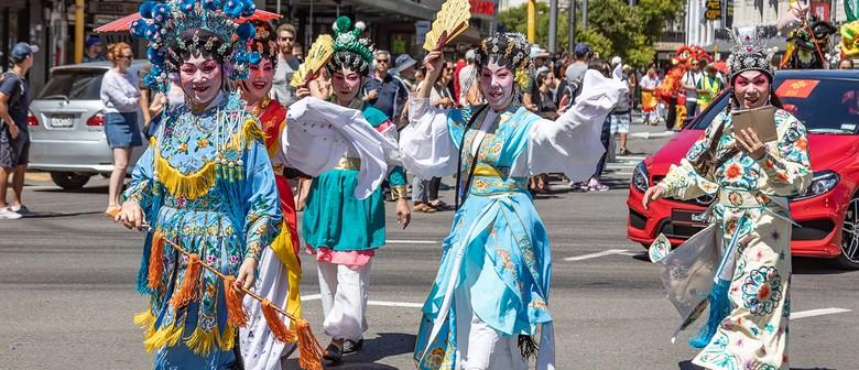 Chinese New Year Wellington Street Parade