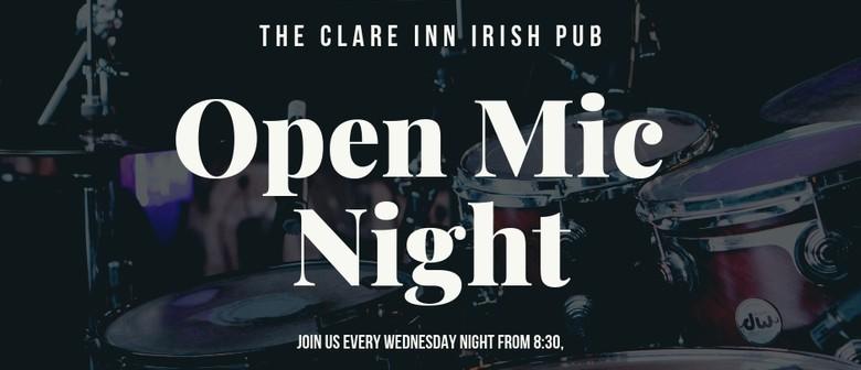 Clare Inn Open Mic Night