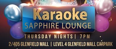 Karaoke - Sapphire Lounge With Noize Kontrol