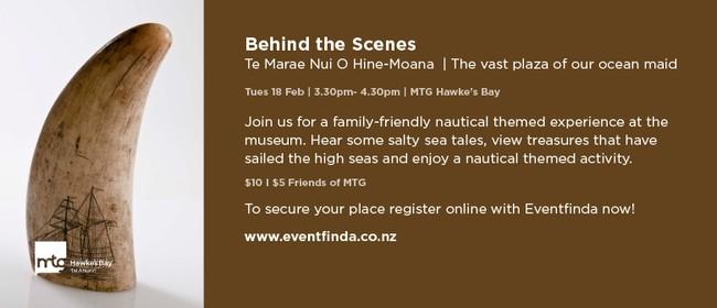 Behind the Scenes - Te Marae Nui O Hine-Moana