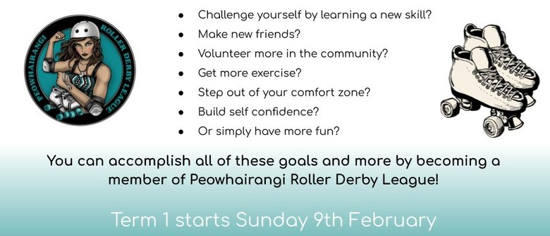 Roller Derby: What's Your New Year's Resolution?